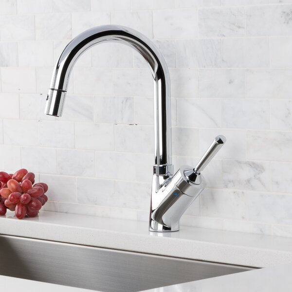 Pull Down Single Handle Kitchen Faucet by Hahn Hahn