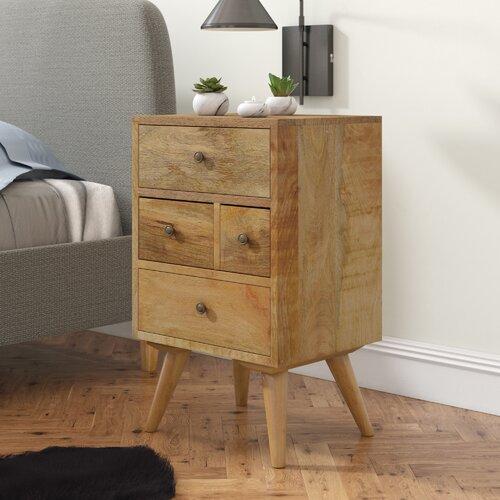 Nachttisch Carmelita ScanMod Design   Schlafzimmer > Nachttische   Holz   ScanMod Design