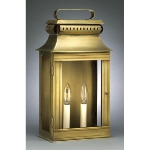 Affordable Price Concord 2-Light Outdoor Flush Mount By Northeast Lantern