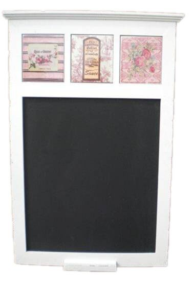 Wood Wall Mounted Chalkboard by August Grove