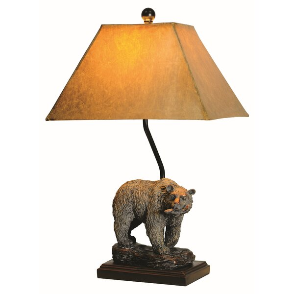Adriel Bear 24 Table Lamp by Millwood Pines