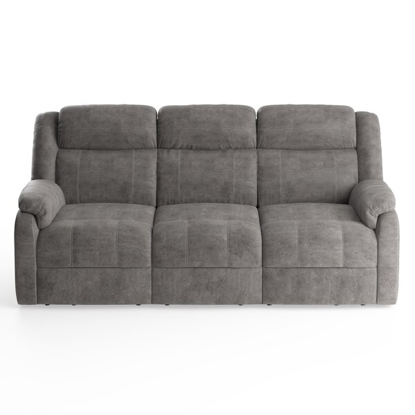 Avalon Gray Reclining Sofa By American Wholesale Furniture