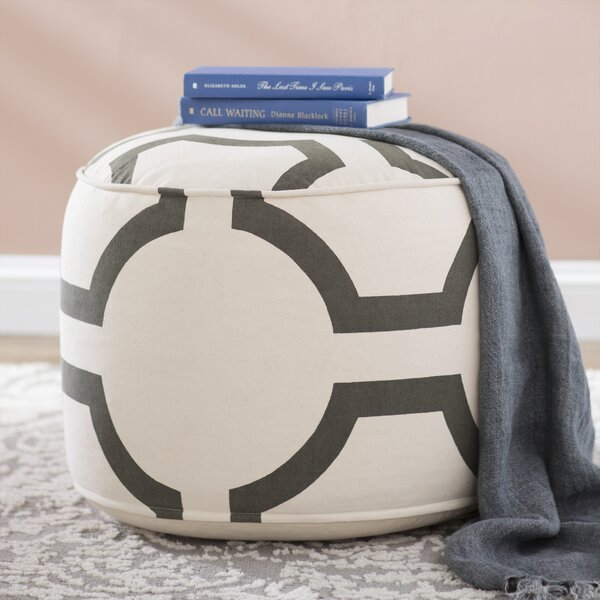 Coolidge Pouf by Beachcrest Home