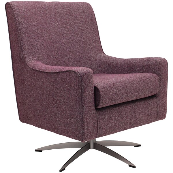 Standish Five Prong Swivel Armchair By Ivy Bronx