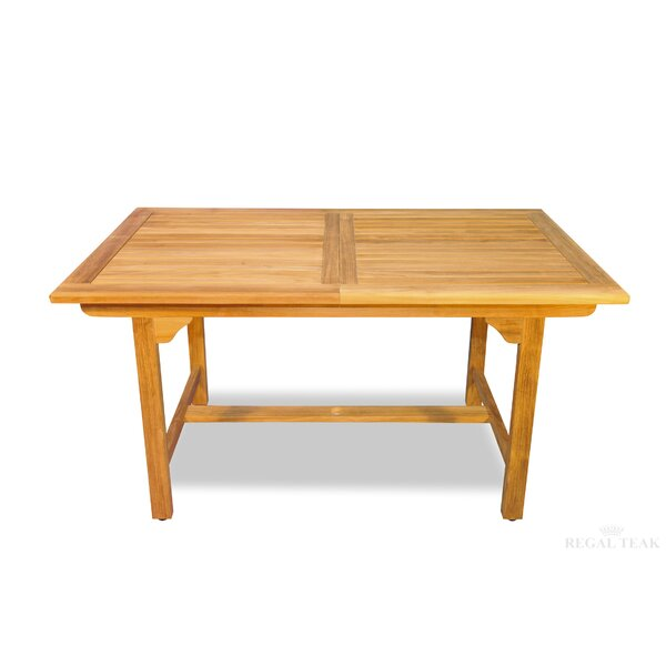 Extendable Teak Dining Table by Regal Teak