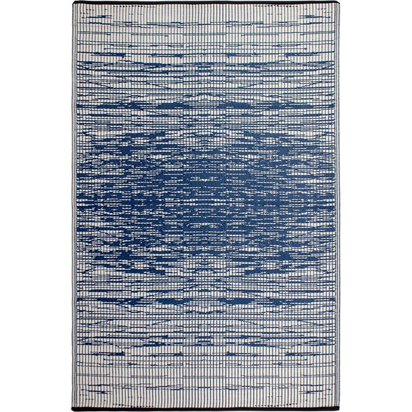 Marianne Blue Indoor/Outdoor Area Rug by Beachcrest Home