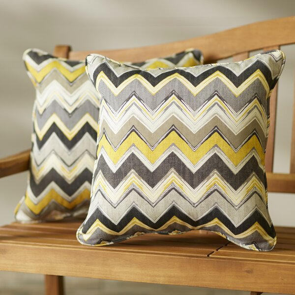 Acton Turville Outdoor Throw Pillow (Set of 2) by Mercury Row
