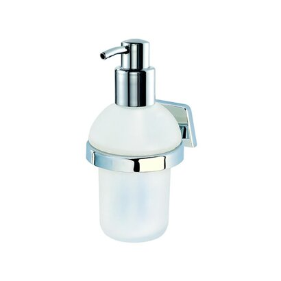 Standard Hotel Wall Mount Glass Soap Dispenser by Geesa by Nameeks