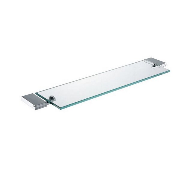 DeBennett Glass Wall Shelf by Orren Ellis