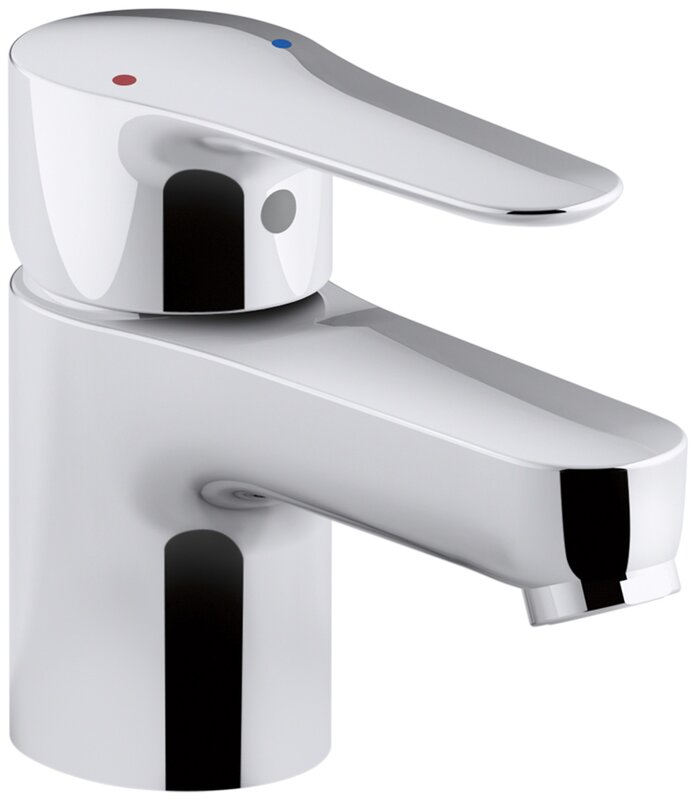 Commercial Bathroom Sink kohler july single-handle commercial bathroom sink faucet with