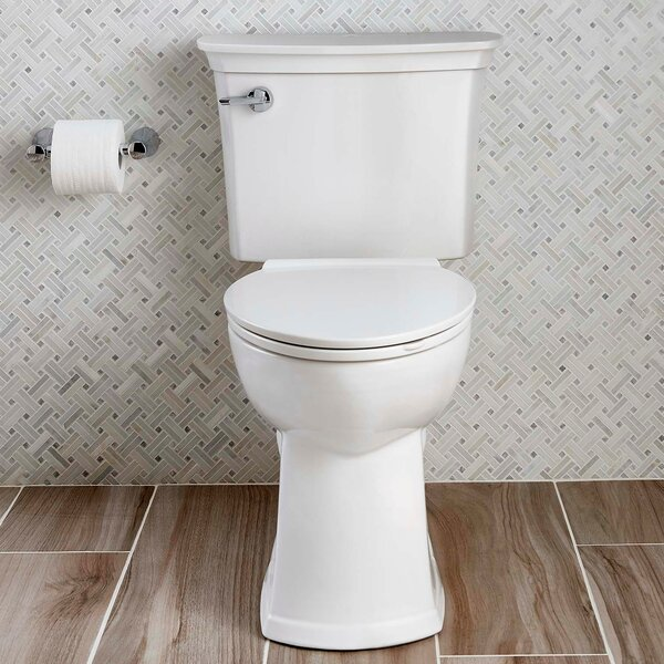 Acticlean Watersense 1.28 GPF Elongated Two-Piece Toilet by American Standard