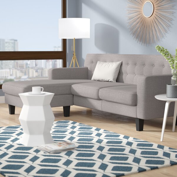 Izabella Reversible Sectional by Ivy Bronx