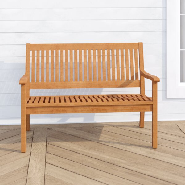 Linntown Garden Bench by Three Posts Three Posts