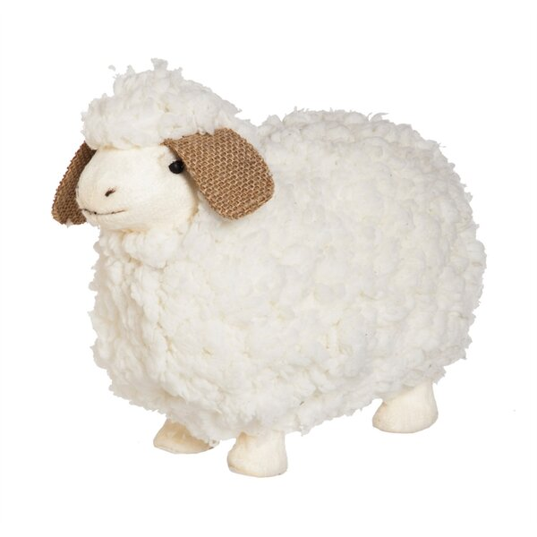Tipps Lamb Figurine by August Grove