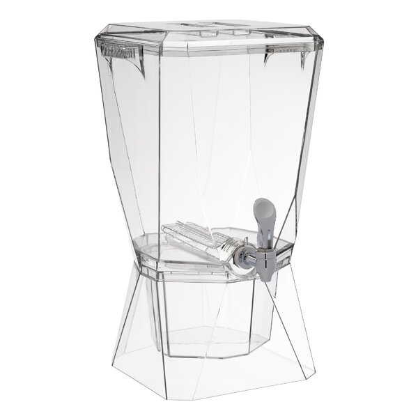 Crown Spigot 384 oz. Beverage Dispenser by Creative Bath