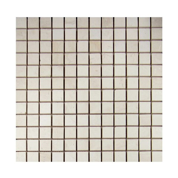 Honed 1 x 1 Natural Stone Mosaic Tile in Freska by QDI Surfaces