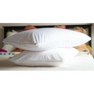 Vinyl Waterproof Pillow Protector with Zipper (Set of 2) ByAlwyn Home