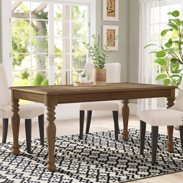 Bloomingdale Transitional Dining Table by One Allium Way One Allium Way