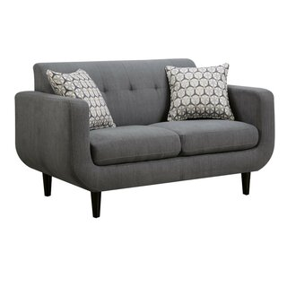 Albrecht Modern Loveseat by George Oliver SKU:AB164230 Shop
