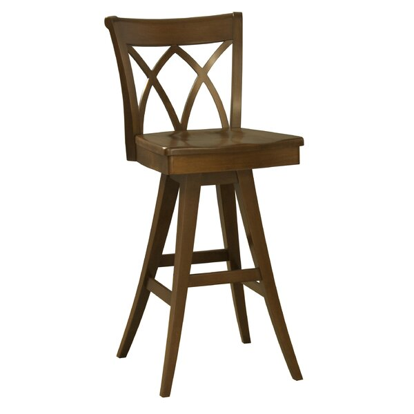 Ines 30.5 Swivel Bar Stool by Red Barrel Studio