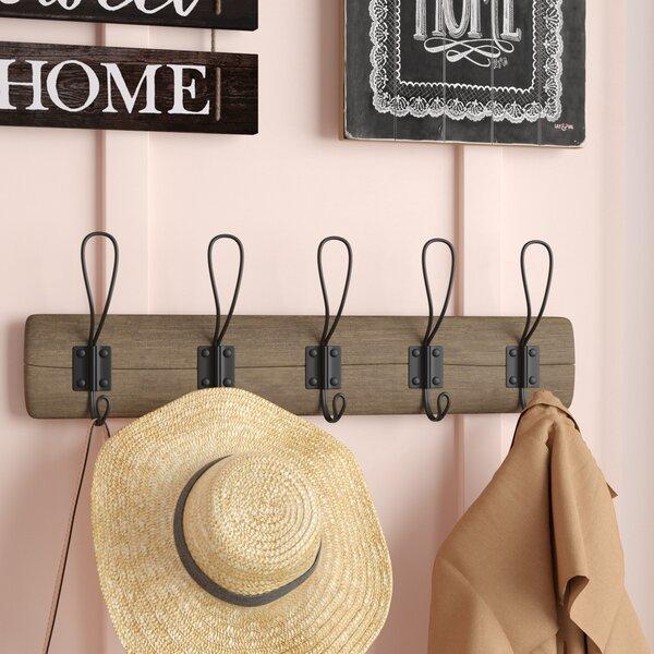 Hardin Reclaimed Wood Wall Hook by Gracie Oaks