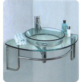 Online Reviews Vetro Glass Circular Vessel Bathroom Sink By Fresca