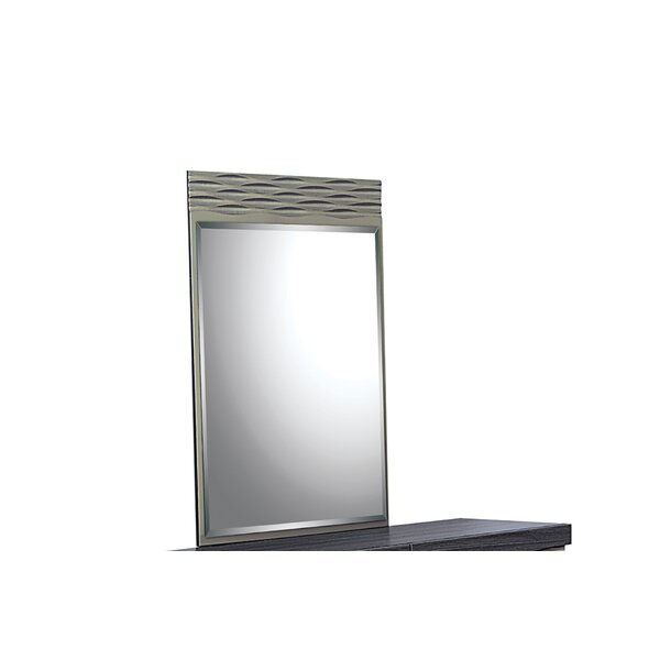 Carrara Rectangular Dresser Mirror by Orren Ellis