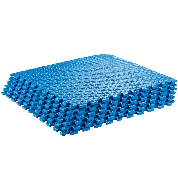 Interlocking Puzzle Exercise Foam Mat (Set of 6) by Sivan Health and Fitness