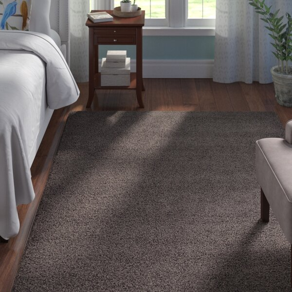Lilah Dark Gray Area Rug By Andover Mills.