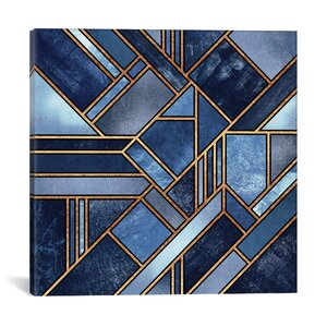 'Blue City' Graphic Art Print by East Urban Home