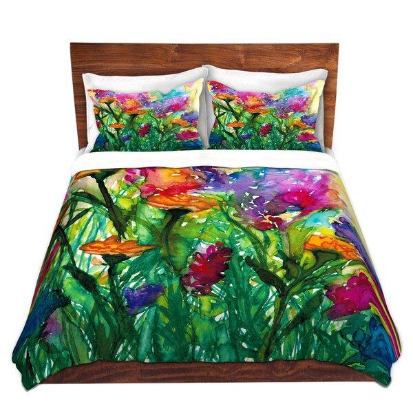 Floral Insurgence I Duvet Cover Set