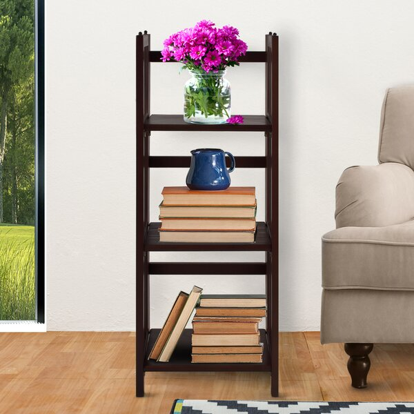 3 Shelf Folding Standard Bookcase by Casual Home