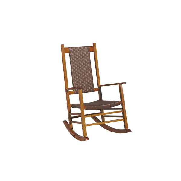 Knollwood Wicker Rocking Chair by Jack Post
