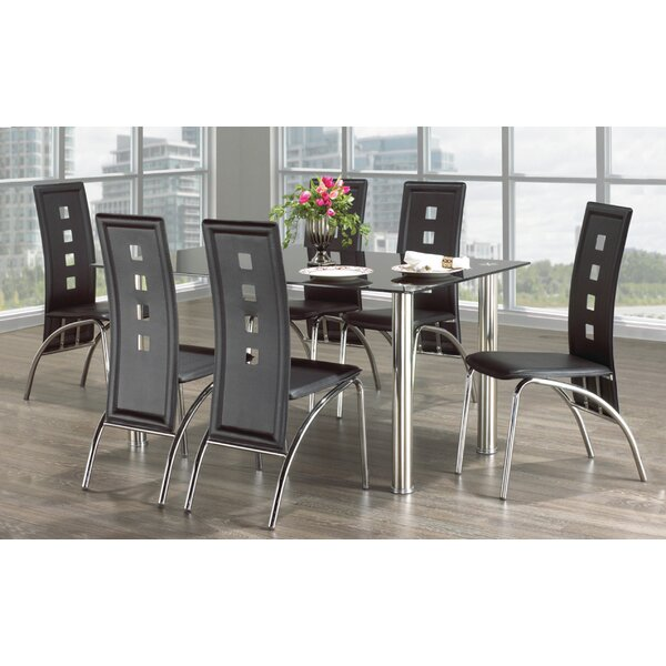 Meredith 7 Piece Dining Set by Orren Ellis Orren Ellis