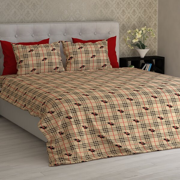 Barnard Electrical Squares Essential Printed 1800 Thread Count Sheet Set by Latitude Run