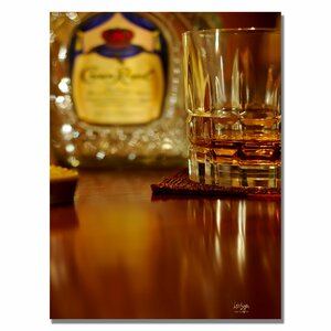 'Whiskey for the Soul' by Lois Bryan Photographic Print on Canvas by Trademark Fine Art