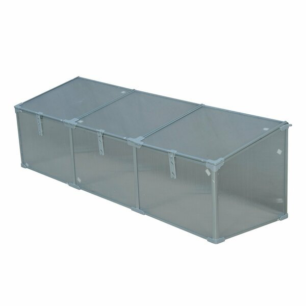3 Ft. W x 2 Ft. D Cold-Frame Greenhouse by Outsunny