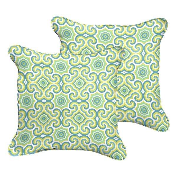 Zelda Indoor/Outdoor Throw Pillow by Latitude Run