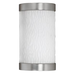 Affordable Price Fusion 1-Light Outdoor Flush Mount By AFX