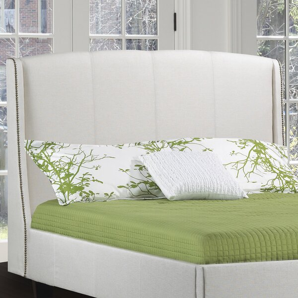 Santillo Upholstered Wingback Headboard by Canora Grey