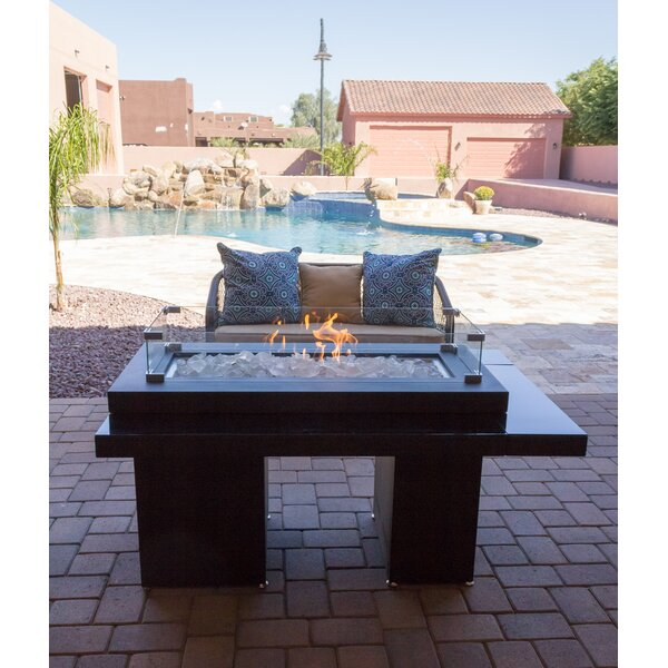 Two Tiered Steel Propane Fire Pit Table by AZ Pati