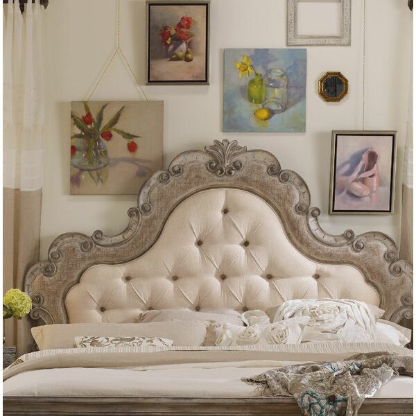 Chatelet Upholstered Panel Headboard by Hooker Furniture