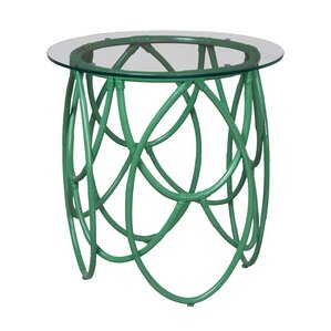 Brookings Rattan End Table by Bay Isle Home