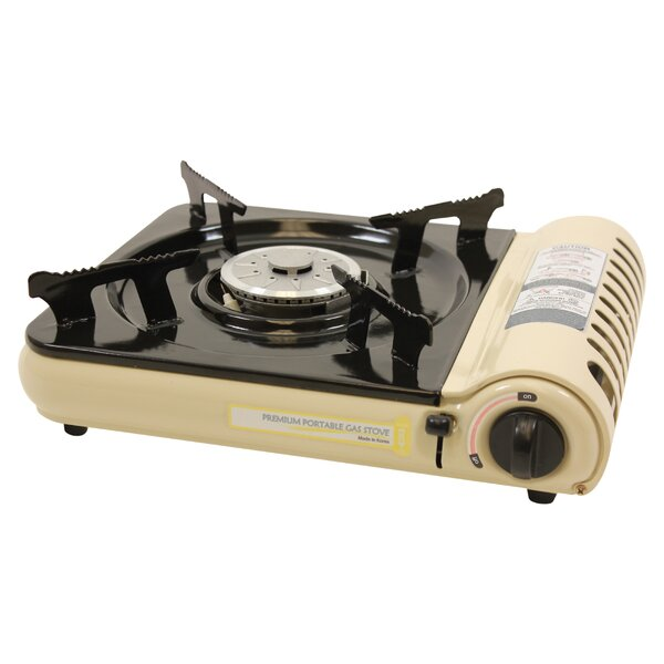 Portable 11 Gas Cooktop with 1 Burner by Thunder Group Inc.