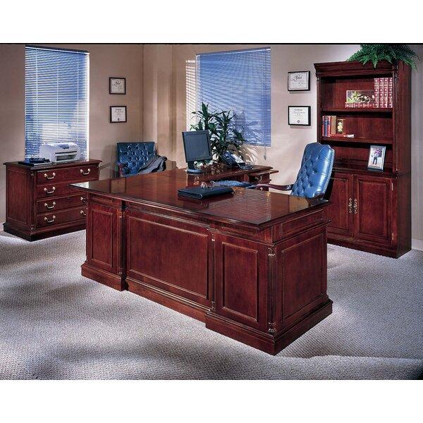 Flannagan 3-PIece U-Shape Executive Desk Office Suite by Three Posts