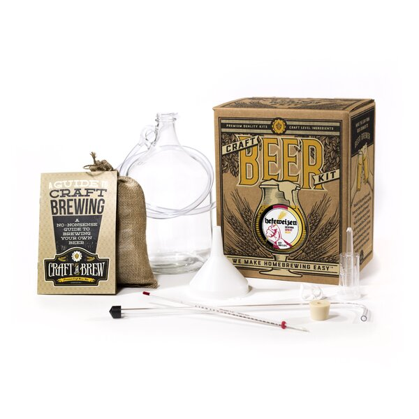 Hefeweizen Craft Beer Kit by Craft A Brew