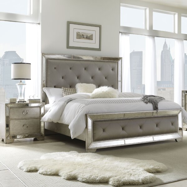 Halstead Upholstered Standard Bed by House of Hampton