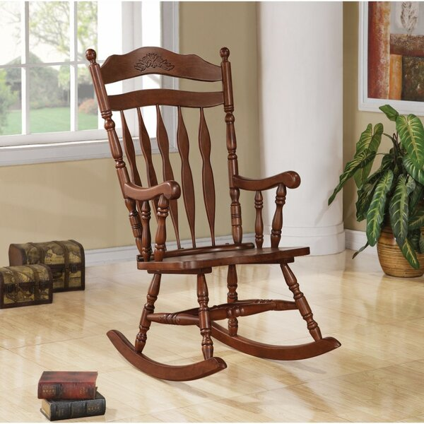 Swarttz Rocking Chair by August Grove