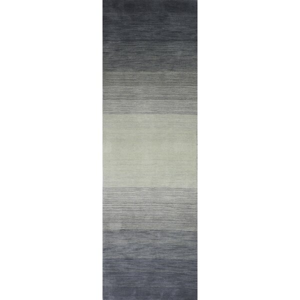 Kimberley Hand-Loomed Slate Area Rug by Latitude Run