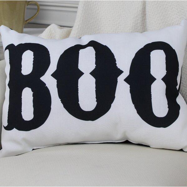 Boo Lumbar Pillow by One Bella Casa